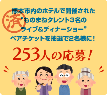 253人の応募